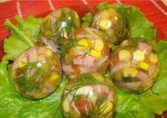 """Želatínové veľkonočné vajíčka na """"slano"""""""
