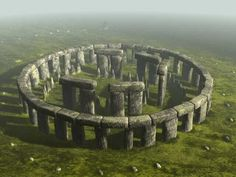 Why does Stone hedge not look like this anymore? What could these stones represent?