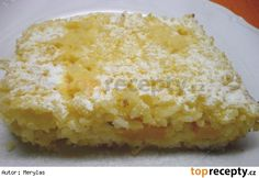 Rýžový nákyp Cornbread, Vanilla Cake, Macaroni And Cheese, Food And Drink, Ethnic Recipes, Sweet, Essen, Millet Bread, Candy