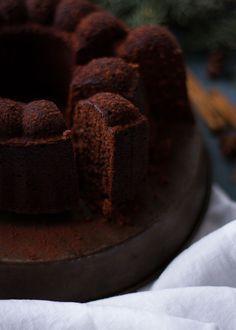 Lebkuchen Schokolade Gugelhupf
