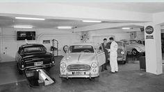 Oslo Kjøles Bilverksted i Sorgenfrigaten 11 foto Leif Ørnelund 1959