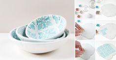 En este fácil DIY podrás aprender cómo hacer recipientes de diseño de manera muy sencilla. Aprende a hacer más objetos con La Bioguía.