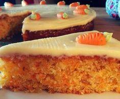 Rezept für einen leckerer Karottenkuchen! #backen #food #kuchen #backideen #rüblikuchen #möhrenkuchen #rezept