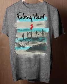Switchfoot Fading West Fall Tour T-Shirt  Source: Switchfoot Facebook page