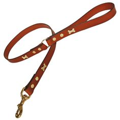 Leather Dog Leads, Leashes Dog Bone. Now your pet can cut a dash in town or country in one of these stylish leather dog leads / leashes. 	 $. http://www.annabelchaffer.com/products/Leather-Dog-Leads%2C-Leashes-Dog-Bone-.html#