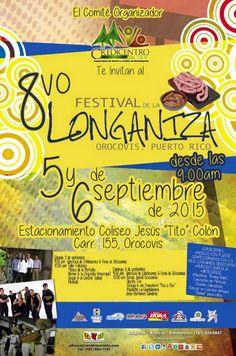 Festival de la Longaniza 2015 #sondeaquipr #festivaldelalonganiza #orocovis #coliseojesustitocolon #festivalespr #turismointerno