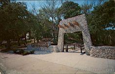 Pre-historic Indian Temple Mound, Fort Walton Beach, Florida.