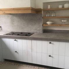 Black Kitchens, Home Kitchens, Küchen Design, Interior Design, New Homes, House Styles, Storage, Room, Furniture