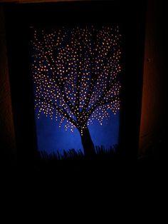 Blossoming tree night light $50.00
