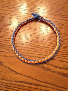 INSTRUCTIONS, Paracord Necklace