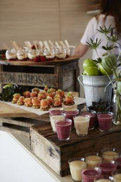 Inspiration décoration buffet