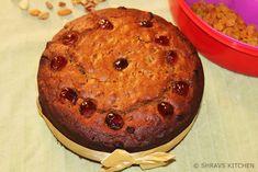 EGGLESS CHRISTMAS FRUIT CAKE | RUM FRUIT CAKE | KERALA PLUM CAKE