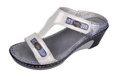 Alegria Lara White Sandal - now on closeout! | Alegria Shoe Shop
