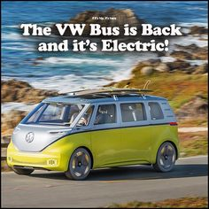 Volkswagen Brings Back The Bus As The Electric Volkswagen ID Buzz – if it's hip, it's here