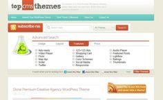 Top CMS Themes es un enorme directorio de temas para WordPress, tanto de carácter gratuito como comercial, con plantillas para todos los estilos y sectores.