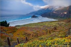 Little Sur River Beach by Don Smith on Big Sur, Photo Look, Pacific Ocean, Digital Photography, Coastal, Beautiful Places, Scene, Earth, River