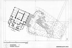 Daniel Libeskind. Serpentine Museum London, plan.