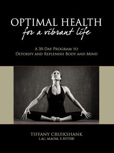 Tiffany Cruikshank Optimal Health Book