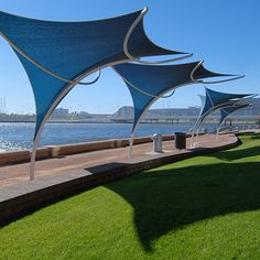 How Does Pergola Provide Shade Membrane Structure, Shade Structure, Outdoor Shade, Canopy Outdoor, Urban Furniture, Street Furniture, Canopy Architecture, Landscape Architecture, Pergola Garden