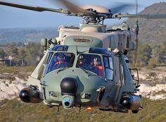 Helicopter NH-90 & Minigum M134x