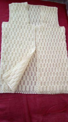 Crochet Poncho Crochet Scarves Knitting Stitches Knitting Patterns Oya Girl With Hat Crochet Patterns For Beginners Crochet Designs Jacket Pattern Baby Knitting Patterns, Crotchet Patterns, Crochet Patterns For Beginners, Knitting Designs, Crochet Designs, Knitting Stitches, Crochet Baby Jacket, Gilet Crochet, Crochet Poncho