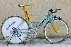 Marco Pantani time trial bike | My friend Ian is cycling fro… | Flickr