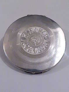 Solid silver compact mirrors vintage Mexican silver handbag mirror silver wedding gifts anniversary presents Anniversary Present, Compact Mirror, Lipsticks, Mirrors, Wedding Gifts, Powder, Boxes, Mexican, Presents