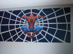 Amazing SpiderMan for boy room....one wall