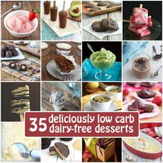 Get the best dairy-free low carb recipes so you can indulge and enjoy this way of life!