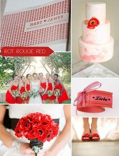 Rot ist nicht tot - Hochzeitsblog Fräulein K. Sagt Ja