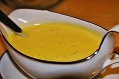 Honig-Senf-Soße 1