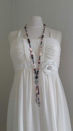Tassel Necklace, Pearls, Jewelry, Fashion, Schmuck, Moda, Jewlery, Bijoux, Fashion Styles