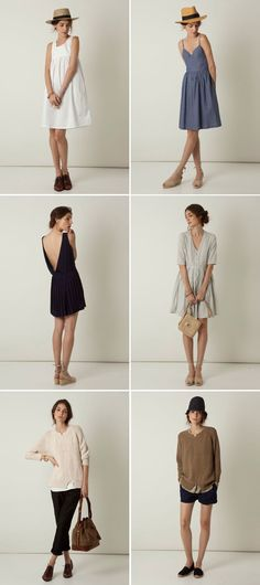 Steven Alan spring collection I adore thee. Looks Style, Style Me, Look Fashion, Womens Fashion, Trendy Fashion, Fashion Outfits, Summer Outfits, Cute Outfits, Summer Dresses