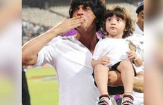 Watch: Shah Rukh Khan Teaching Some Lessons To His Son AbRam Khan
