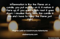 Another from my conversation with Virginia Ladd of AARDA. It's Going Down, Autoimmune, Make It Yourself, Activities, Conversation, Virginia, Thoughts, Nice, Nice France