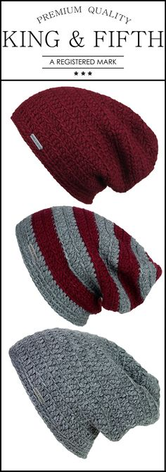 Our port color beanies make for the perfect fall accessory! Shop for yours today at King & Fifth.