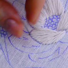 Knitdo - Beginners DIY Craft for Crochet - Knitting and Embroidery Hand Embroidery Patterns Flowers, Hand Embroidery Videos, Embroidery Stitches Tutorial, Learn Embroidery, Embroidery Techniques, Embroidery Art, Cross Stitch Embroidery, Creative Embroidery, Knitting