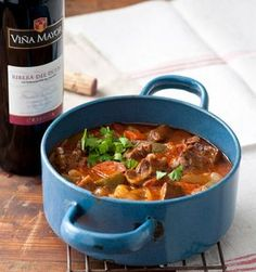 Spanish stew with chorizo - # Wine Recipes, Beef Recipes, Chicken Recipes, Cooking Recipes, Chorizo, One Pot Meals, No Cook Meals, Spanish Stew, I Love Food
