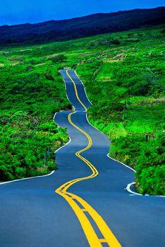 maui hawaii | Driving the Kula Highway, Maui, Hawaii USA | Blaine Harrington III