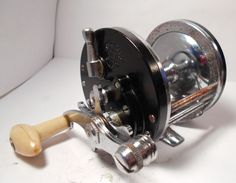 Vintage OCEAN CITY No. 113 Conventional Saltwater Fishing Reel Surf Boat Pier #OCEANCITY