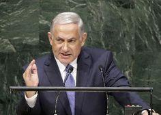 29日、国連総会の一般討論で演説するイスラエルのネタニヤフ首相=ニューヨーク(AP=共同) ▼30Sep2014共同通信|イスラエルがイランの脅威強調 首相、国連で演説 http://www.47news.jp/CN/201409/CN2014093001001219.html #בנימין_נתניהו #Benjamin_Netanyahu #بنيامين_نتانياهو #Биньямин_Нетаньяху #بنیامین_نتانیاهو #本雅明_内塔尼亚胡 #班傑明_納坦尼雅胡