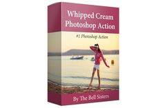 Whipped Cream Photoshop Action by The Bell Sisters on @creativemarket