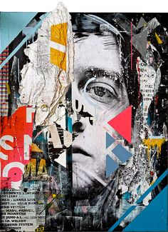 Collage Artworks by Joachim Romain Inspiration Grid Design Inspiration Art Du Collage, Collage Portrait, Mixed Media Collage, Digital Collage, Collage Artists, Montage Art, Identity Art, Gcse Art, Art Graphique