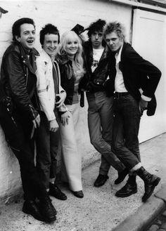 The Clash with Janie Jones.