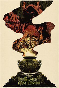 Very cool Black Cauldron poster