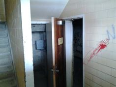 The inside of one of the buldings at traverse city asylum