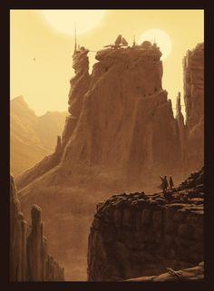 JC Richard - The Desert Sands