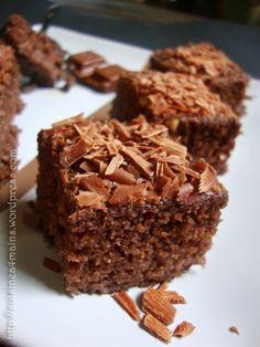 Gâteau semoule/ chocolat
