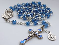 Holy Face Rosary made by Amy from Yellowknife, NT. $58.50