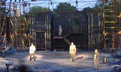 Macbeth. Shakespeare in the Park. Scenic design by Derek McLane.